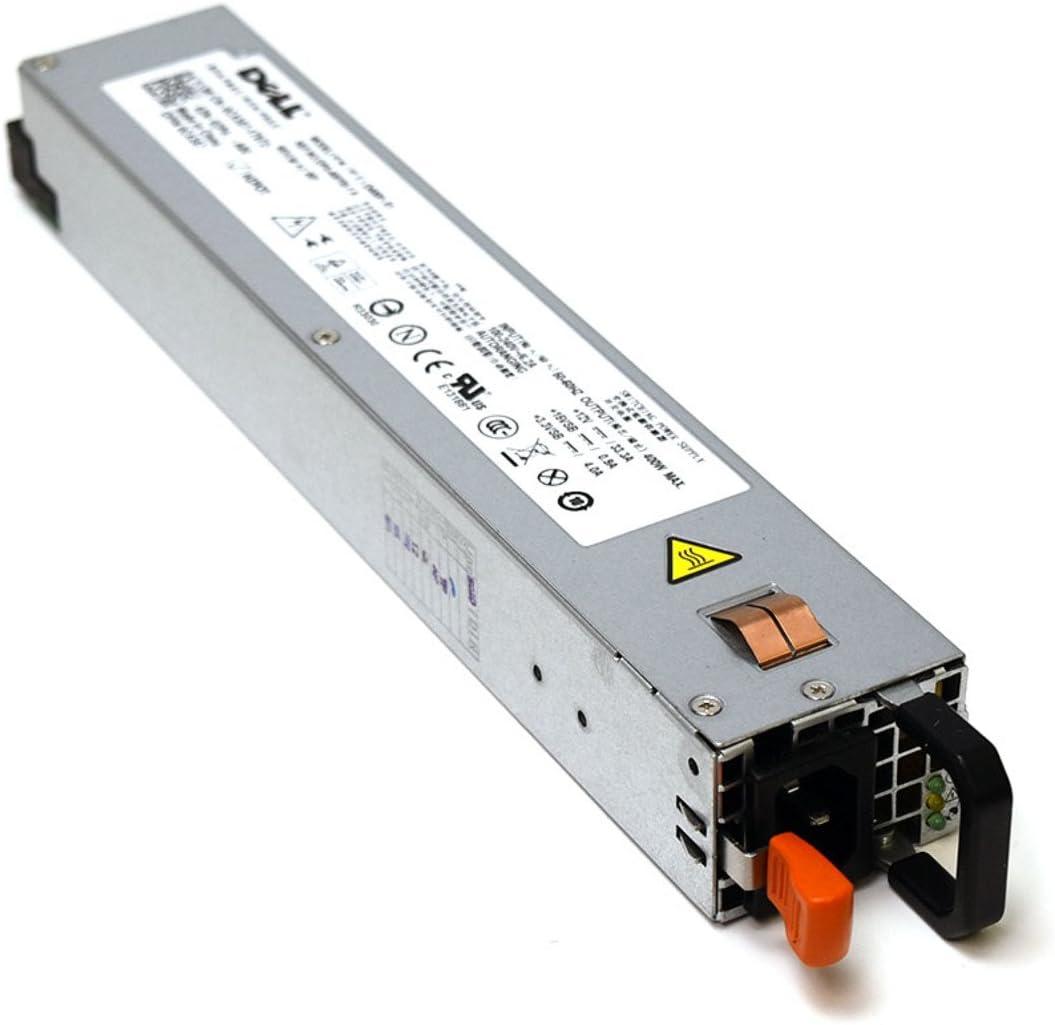 Aquamoon Trading New CX357 Genuine OEM Dell PowerEdge R300 R400 Redundant Power Supply Module 400W w/Handle Fan Assy DPS-400YB-1 A 100-240V 5.8A Autoranging Switching PSU Calypso Multi Back-up