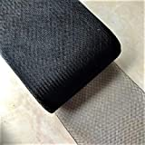 3''inch wide Stiff Polyester Black Horsehair Braid, selling per Roll 50Yards