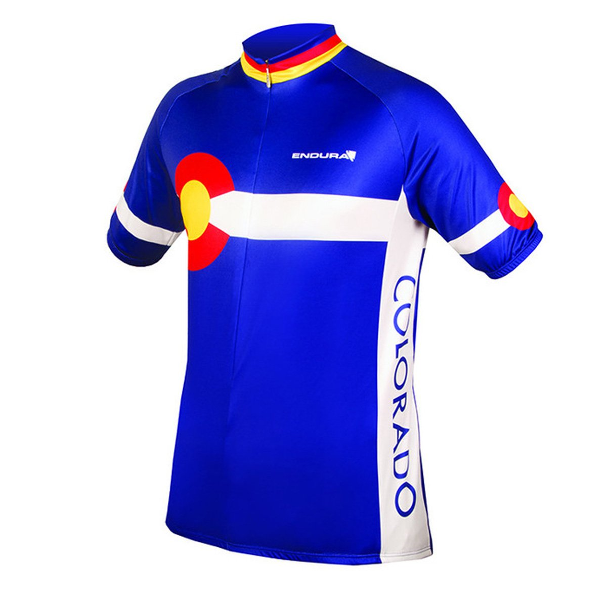 Endura Colorado II Short Sleeve Cycling Jersey B072855HBF Small|ブルー ブルー Small