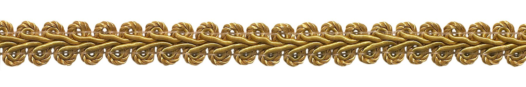 DÉCOPRO 54 Yard Value Pack of 1/2 inch Basic Trim French Gimp Braid, Style# FGS Color: Gold - C4 (164 Ft / 50 Meters) by DÉCOPRO