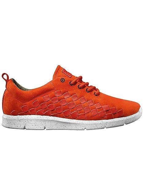 Zapatillas Vans - Tesella (HyperSat) Naranja/Blanco 44,5: Amazon.es: Zapatos y complementos