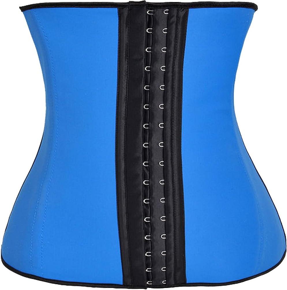 FUT Womens Latex Waist Trainer Corset for Weight Loss Cincher Shaper Slimmer