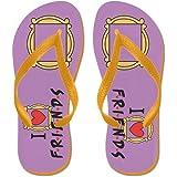 CafePress - Friends TV Show - Flip Flops, Funny Thong Sandals, Beach Sandals
