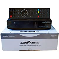 Decoder Zgemma H5 Combo HD per la TV SAT, Digitale Terrestre e IPTV, compatibile HEVC H265, con tuner DVB-T2 e DVB-S2 OS Linux Enigma 2 OpenATV