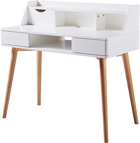 Versanora – Creativo Stylish Desk – White Natural