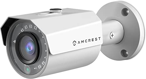 Amcrest 4MP POE IP Camera UltraHD Outdoor Security Camera Bullet – IP67 Weatherproof, 4-Megapixel 2688 TVL , 98ft Night Vision, Surveillance Camera, REP-IP4M-1024EW Certified Refurbished