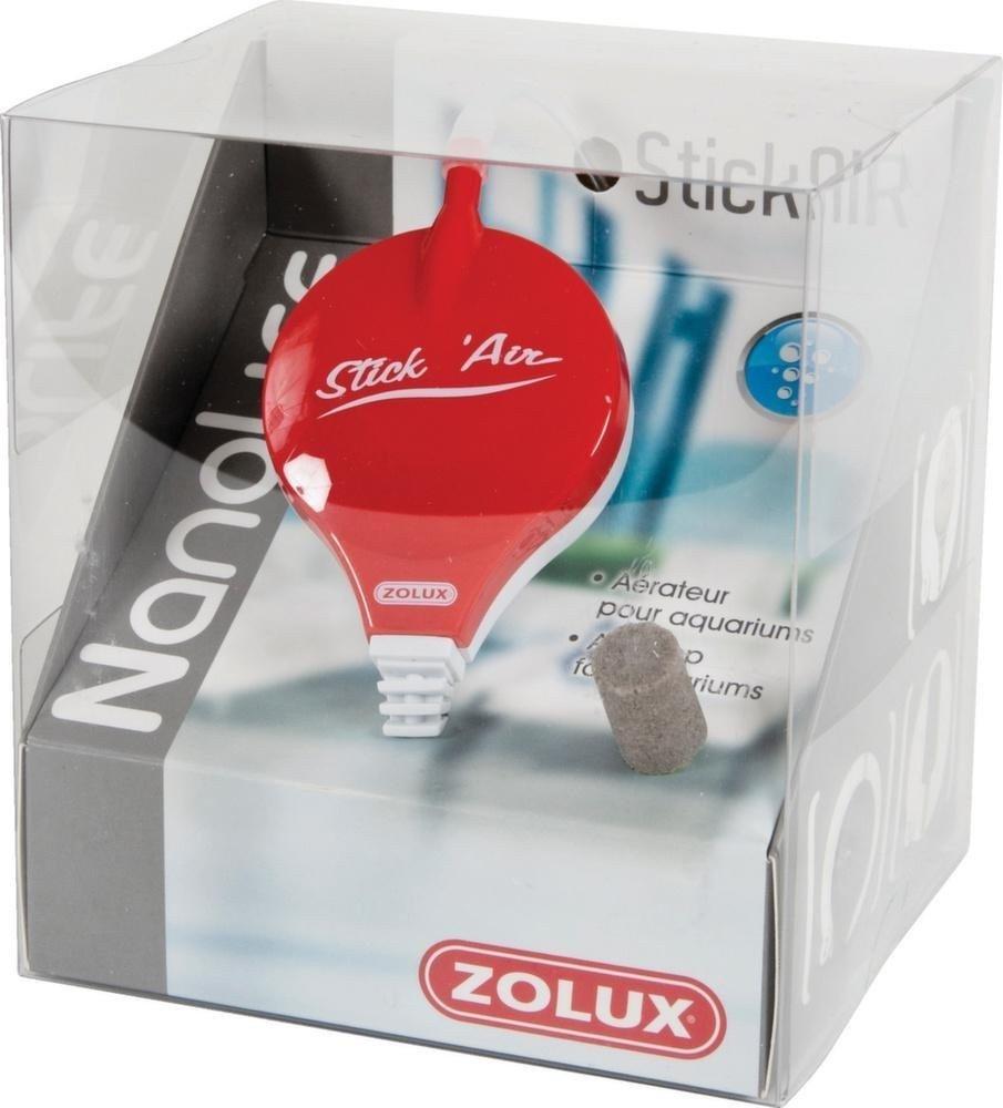小型水族館用Zolux StickAIR Nanolifeレッドエアーポンプ(最大50L) B00ZMIDVOC