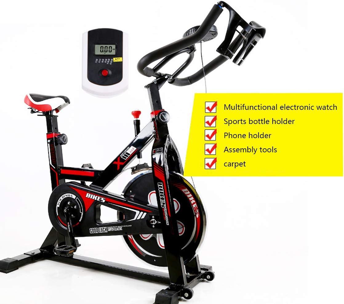 Zzxxo Bicicleta estática de Spinning Deportiva para Estudio ...