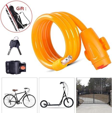 LieYuSport Candado Bici,Cadena Bici Alta Seguridad con ...