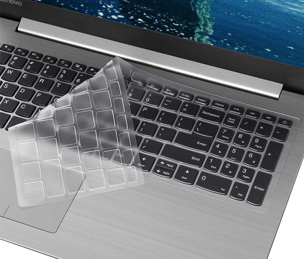 "Keyboard Cover for Lenovo Yoga C940 C740 15.6, Keyboard Cover for 2020 2019 Lenovo IdeaPad 320 330 330s 240s 15.6""/IdeaPad 320 330 17.3""/IdeaPad 520 720s 15.6"" Ultra Thin TPU Keyboard Protector Skin"