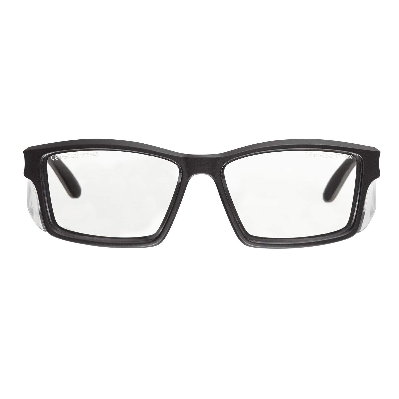voltX 'Constructor' Schutzbrille +1,00 Dioptrien mit Sehstärke inkl. Sicherheitskordel mit Stopper – farblos, LESERSCHUTZBRILLE Vergrößerung linse Schutzbrille mit Lesehilfe StraightLines Others