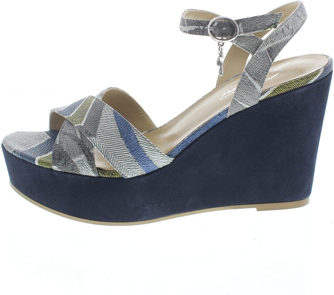 gattinoni Sandales pour Femme Bleu