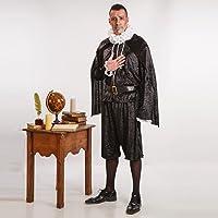 Disfraz de Cervantes para Hombre talla Universal M-L