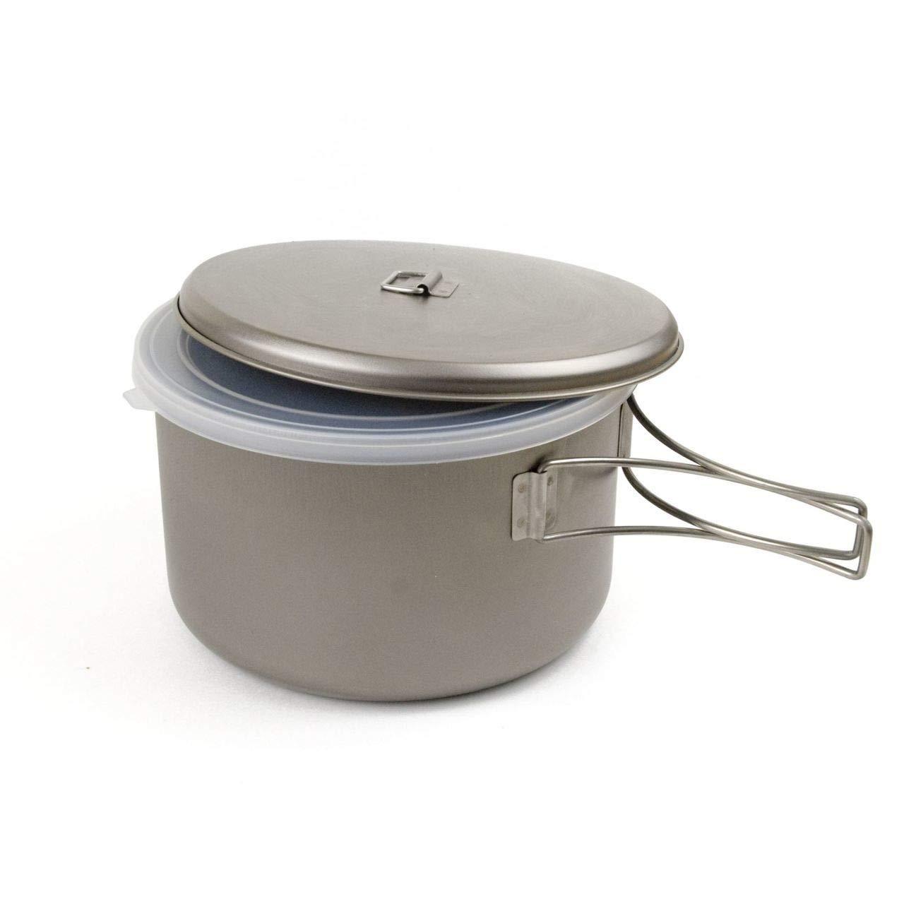 Snow Peak Titanium Cook N Save Cookware by Snow Peak