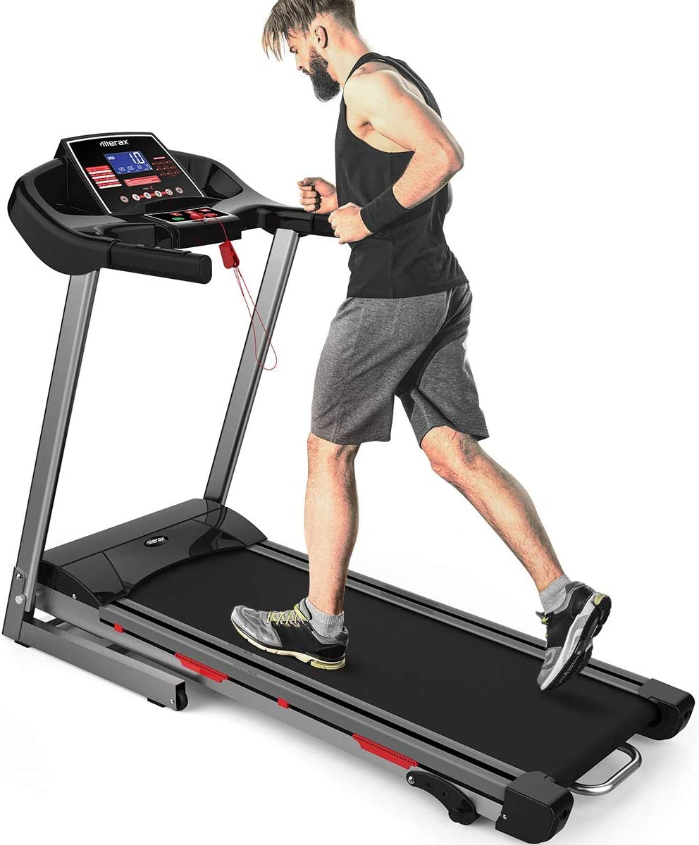 Merax Folding Electric Motorized Treadmill