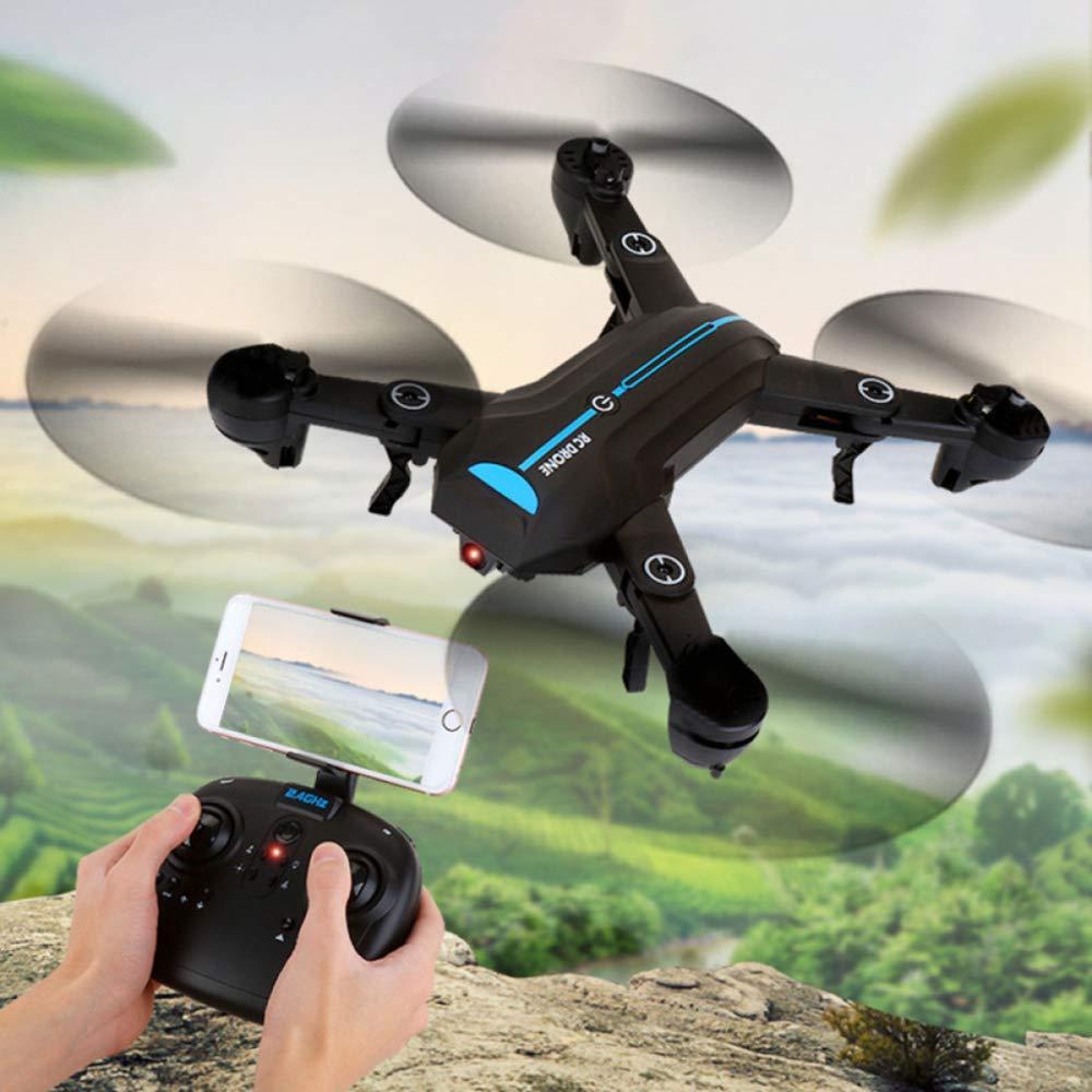 ERKEJI Drone de gravité Induction Distant Pliant Quatre-axe Avion Jouet Avion 720p Photo aérienne Transmission en Temps réel WiFi FPV