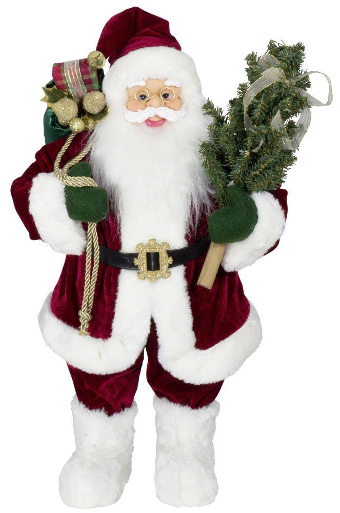 KoTaRu Deko-Weihnachtsmann Deko-Weihnachtsmann Deko-Weihnachtsmann PHILIP Santa Clause Nikolaus Figur 60 cm f82055