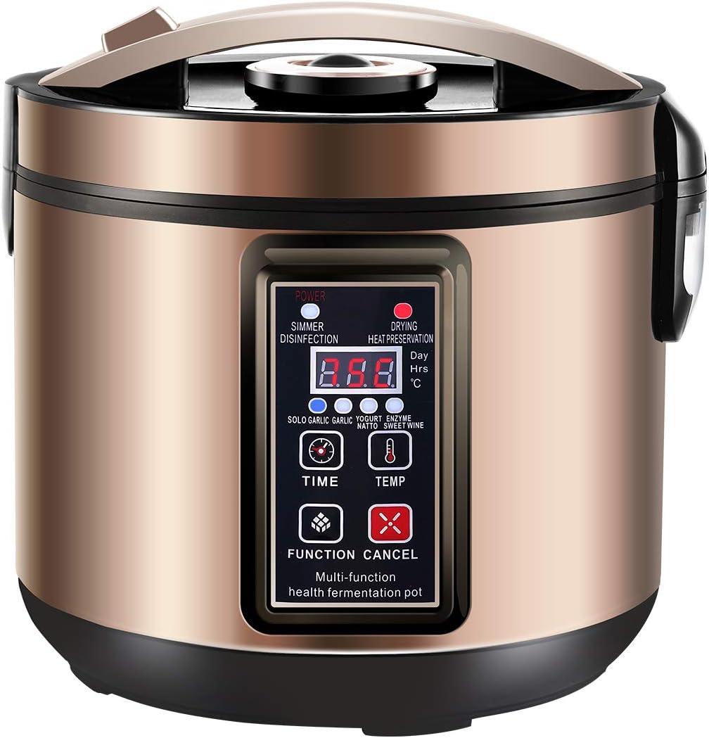 6L Black Garlic Fermenter, Kimchi machine,Sweet Rice Wine Maker Full Automatic,Multi Function Yogurt Pot – MLGB