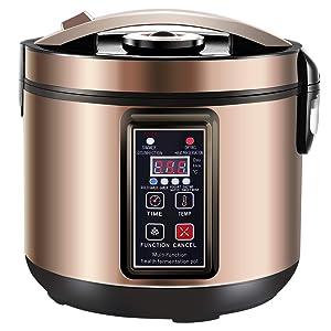 6L Black Garlic Fermenter, Kimchi machine,Sweet Rice Wine Maker Full Automatic,Multi Function Yogurt Pot - MLGB