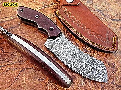 Amazon.com: sk-394, personalizado hecho a mano Full Tang ...
