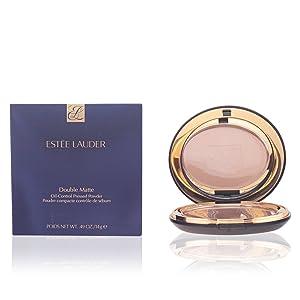 Estee Lauder Double Matte Oil-Control Pressed Powder Women, 02 Light Medium, 0.49 Ounce
