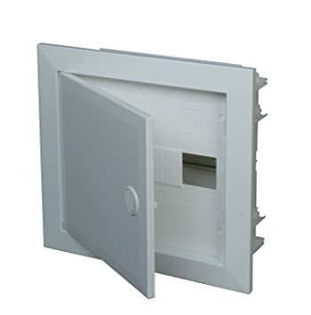 kopp 340511017 flush mounted fuse box metal door 1 row ip30 kopp 340511017 flush mounted fuse box metal door 1 row ip30 for 12