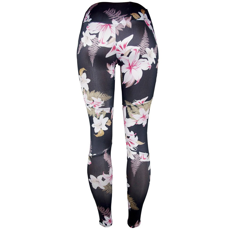 Dressffe Fitness & Sports, High Waist Ankle-Length Pants Yaga Pants for Women, Athletic Pants Breathable suit for Workout Leggings Fitness Sports Gym Running Floral Printed Trousers Pencil Pants (S) by Dressffe (Image #2)