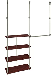 ClosetMaid 55302 Closet Maximizer, Dark Cherry
