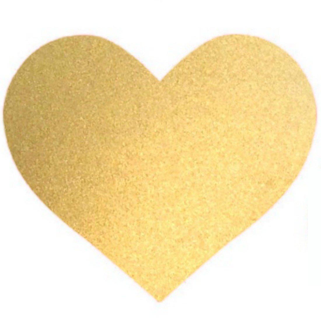 Amazon.com: Bobee Gold Heart Dots Vinyl Wall Decals, 36-Count: Home ...