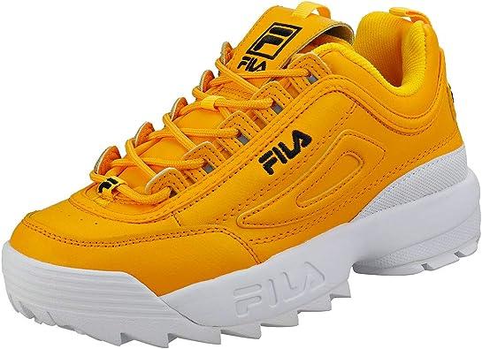 Sneakers Disruptor Ii Premium Fila en coloris Yellow