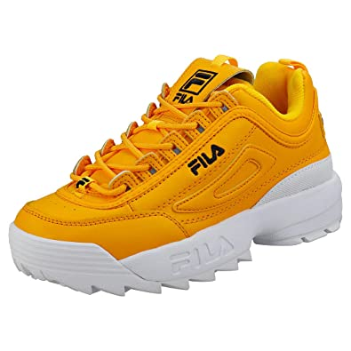 ae898606ed4 Amazon.com | Fila Disruptor 2 Premium Womens Trainers | Fashion Sneakers
