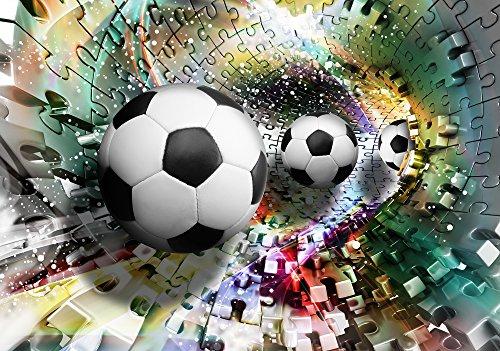 Olimpia Design Fototapete 3D Fußball, 1 Stück, 3381P4