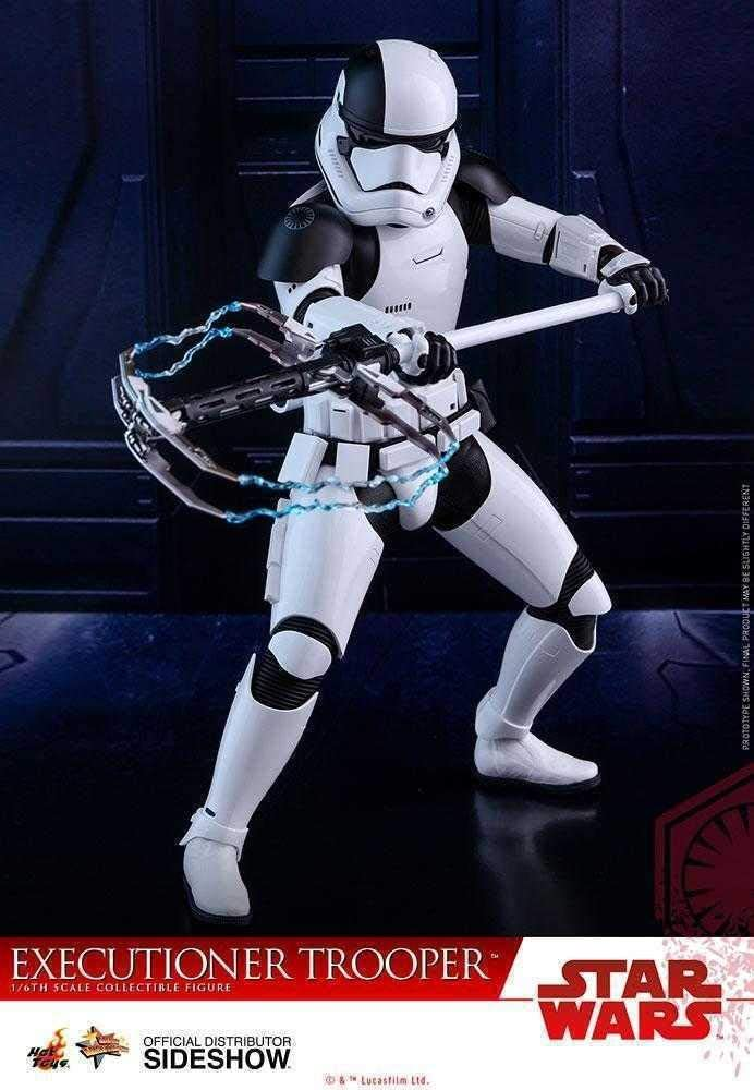 HOT TOYS Guerre Stellari L/'ULTIMA Jedi BOIA Trooper ASCIA ARMA SCALA 1//6th