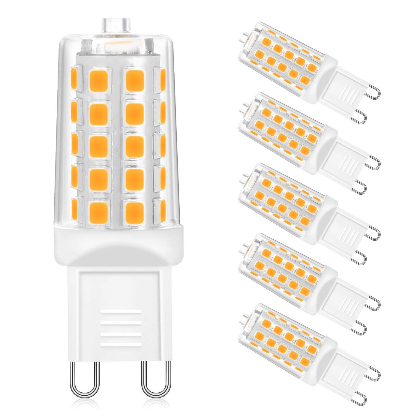 Idesion - Bombilla LED G9 (4 W, ahorro de energía ...