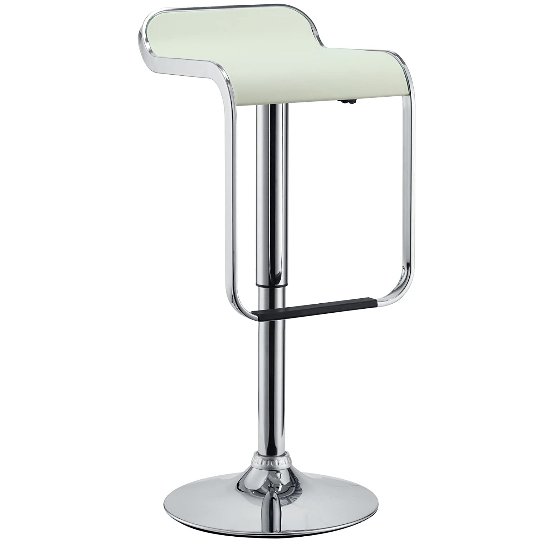 Uncategorized Lem Stools amazon com modway lem piston style vinyl bar stool in white kitchen dining