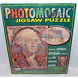 Photomosaic Photomosaics Jigsaw Puzzle Washington