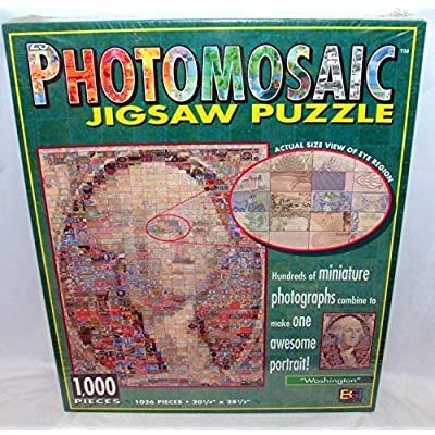 Photomosaic Photomosaics Jigsaw Puzzle Washington