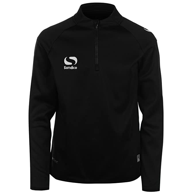 05d8d8818e7 Sondico Kids Boys Mid Layer Track Top Junior Tracksuit Jacket Long Sleeve  Chin: Amazon.co.uk: Clothing