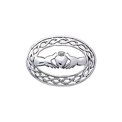 Amazon Jewelry Trends Sterling Silver Irish Claddagh Celtic