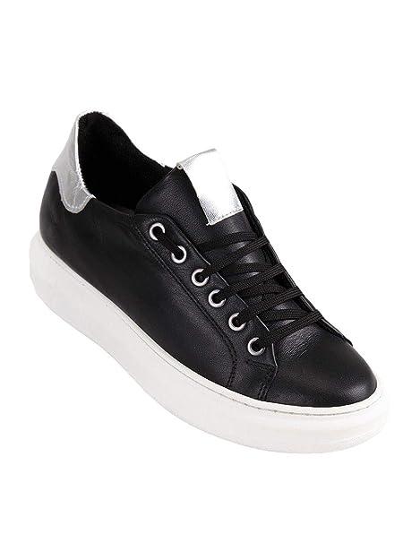 Freetime - Zapatillas de Tela para Mujer Negro Size: 36 EU