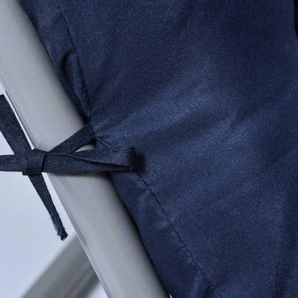 PUDDINGHH/® Matelas Pour Chaises Longues Oreiller De Maison Relaxation Coussins Rembourr/és Oreiller De Remplacement Pour Chaises De Terrasse Avec Repose-Pieds,Violet