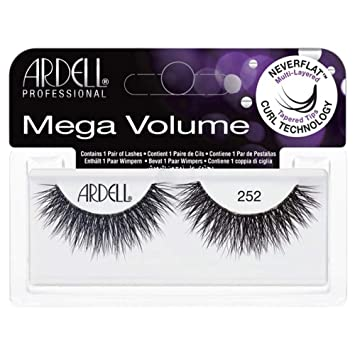 67a7379e25d Amazon.com : ARDELL Mega Volume Lash 252 Eye Lashes : Beauty