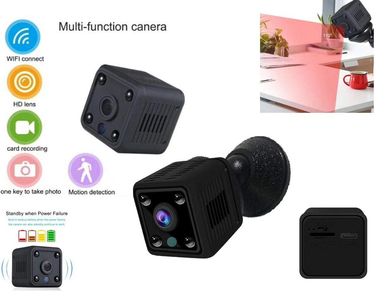 Cámara Oculta microcámara de detección Spy WiFi IP HD 960P SD 4 ...