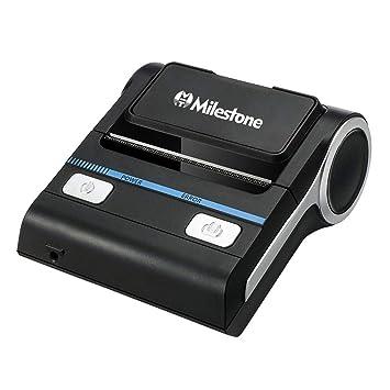 HM2 - Impresora térmica portátil con Bluetooth (3600 mAh), Color ...