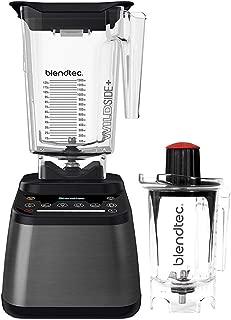 product image for Blendtec Designer 725 Blender - WildSide+ Jar (90 oz) and Twister Jar (37 oz) BUNDLE - Professional-Grade Power - Self-Cleaning - 6 Pre-Programmed Cycles - 100-Speeds - Gunmetal/Black