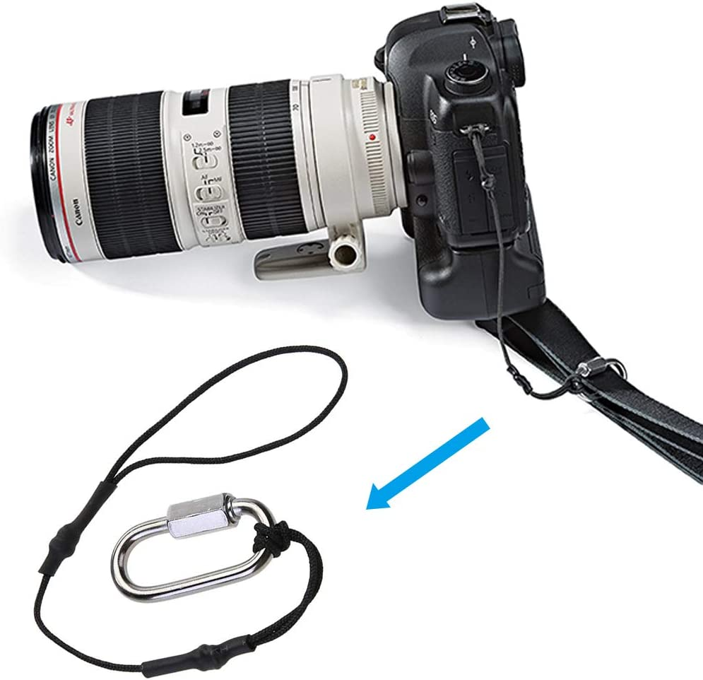 SourceTon Camera Strap for DSLR Camera and Mirrorless Professional Cameras 4 Packs Camera Tether Safety Strap
