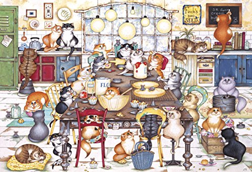 Gibsons Cat's Cookie Club Jigsaw Puzzle, 250XL Piece