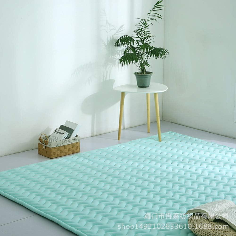 WJXBoos Baby Kinder Spielmatte Kinderzimmer Teppich Floor Gym 59x75inch Baumwolle Kriechende Kissen Nicht-giftig Nicht-Slip Waschbar Raumdekor Bodenmatratze Yoga-b 150x190cm