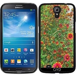Funda para Samsung Galaxy Mega 6.3 GT-I9205 - Jardín Gaillardia Sunburst by Blooming Vine Design