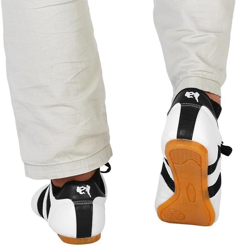 Chaussures de Boxe Karat/é Chaussures de Sport Kung Fu Taichi pour Adultes et Enfants Chaussures de Taekwondo Unisexe